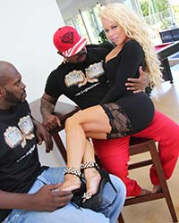 Black Man Dick Nikki Delano