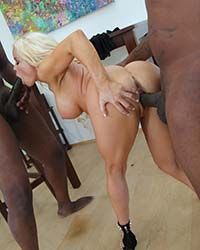 Nikki Delano Suck Black Dick