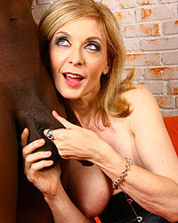 Nina Hartley Black Dick Black Pussy