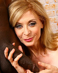 Nina Hartley Kacey Interracial Gangbang