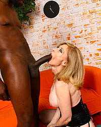 Nina Hartley 18 Inch Black Dick