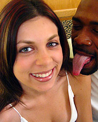 BlacksOnBlondes.com Lanny Barbie Interracial Gangbang Pictures