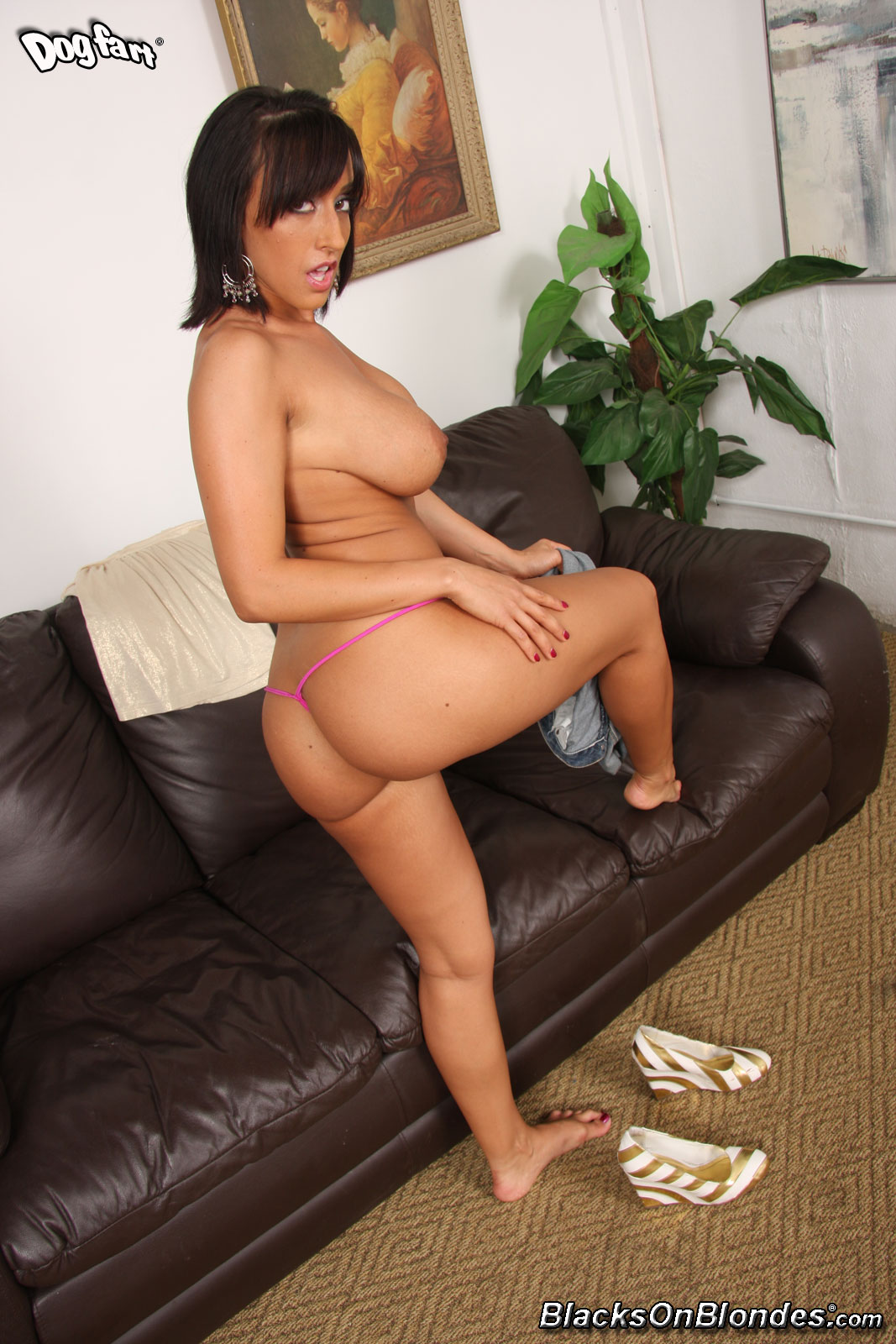 Ricki white fucked by bbc on casting couch 3