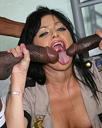 Sadie West Suck A Black Dick