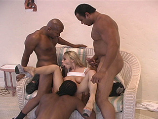Samantha Sterlyng - Blacks On Blondes