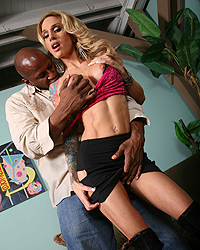 Large Black Dick Sarah Jessie