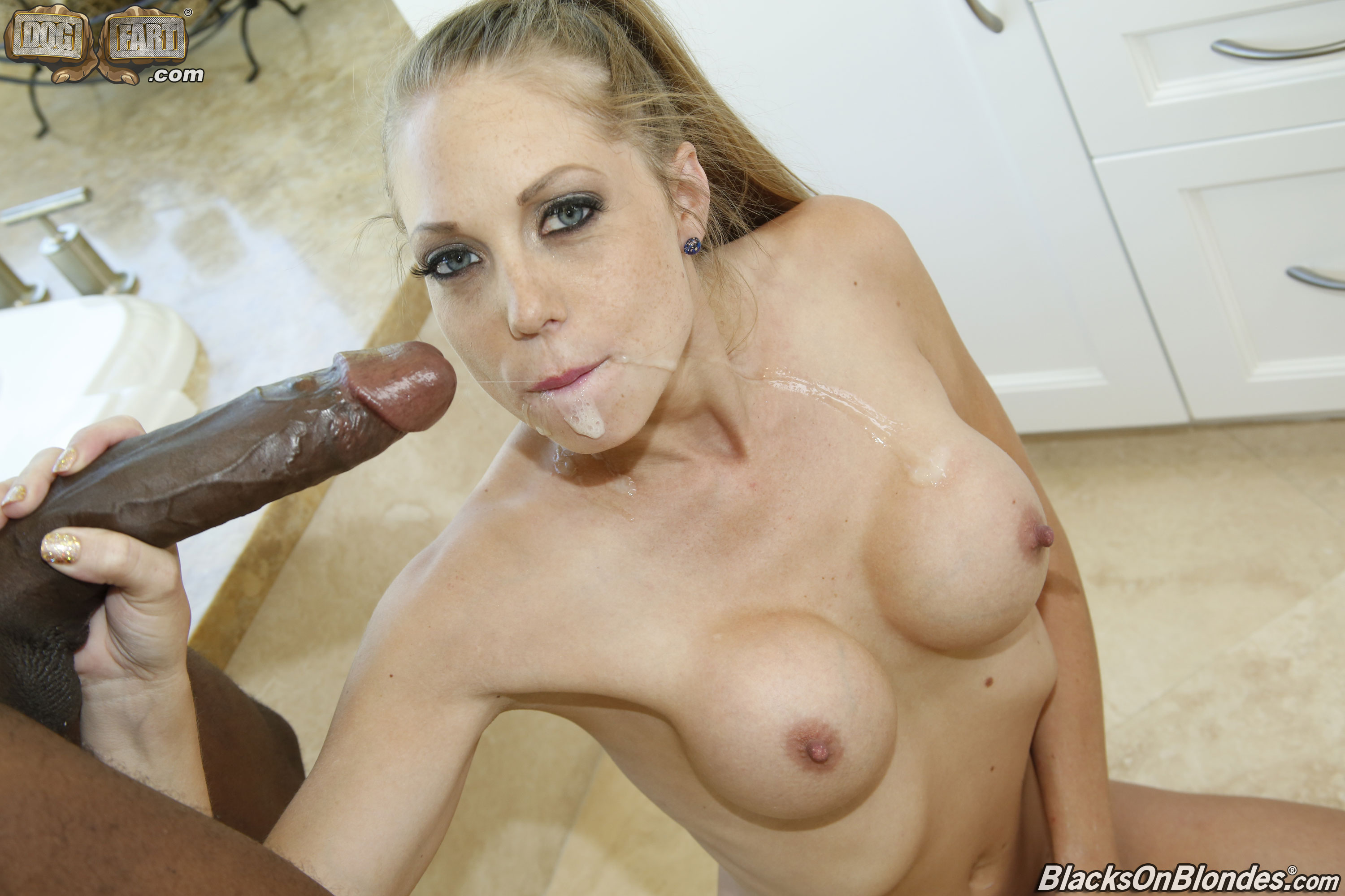 Blacks on blondes tube share