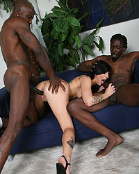 Tori Lux Blondes Black Dick
