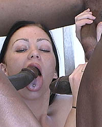 Interracial Sluts Trina
